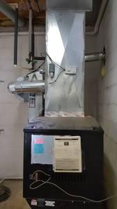 Harman PF100 pellet furnace (Galena OH)