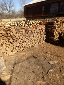 FIREWOOD ** SEASONED !!!!WE DELIVER ** (North tulsa and surrounding areas)