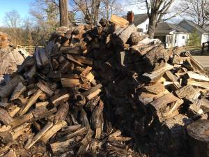 Split Seasoned Firewood (Waynesville)