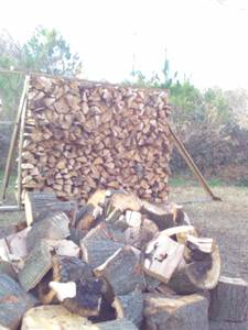 SPLIT-FIREWOOD hardwood mix (Raleigh/Durham)