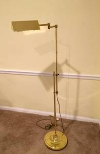 Brass Finish Floor Lamp for sale