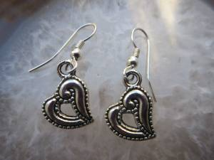 Heart Earrings - Brand New (Cary)