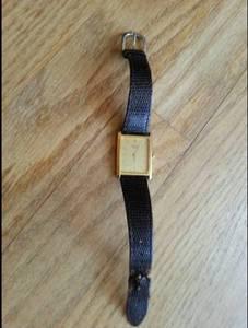 Vintage 1980's Gold Tone Seiko Wrist Watch (Abingdon)