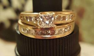Valentine's Day is coming!!! Reduced!! Engagement/Wedding ring set (Hodgenville