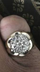 Authentic Mens GOLD & DIAMOND RING. (Indianapolis)