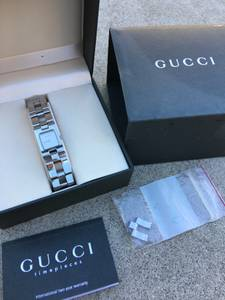 Women's GUCCI Luxury Watch 2305L Stainless Steel (Arcadia)