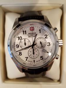 Mens Wenger Swiss Military watch (North Bend)