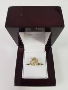 5.50 Carat Champagne Diamond Ring Valentine's Day 299/per month (Hollywood)
