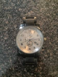 Stainless Steel Fossil Watch (Memphis)