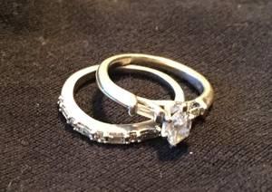 Wedding ring set (Lindsay)