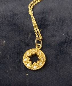 Special Gift: Vintage Small Circular Pendant with Diamonds (West Raleigh)