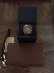 Michael Kors Watch & Clutch (Bloomington)