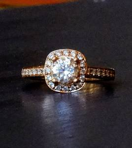 Beautiful 1.13 Ctw a. Jaffe Diamond Engagement Ring (Longmont)
