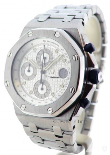 Audemars Piguet Royal Oak Offshore Chronograph Steel Mens Watch