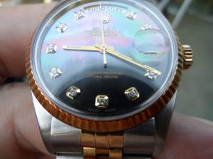 Rolex Tudor Day Date Presidient w/ diamonds and Mother of Pearl (Elk Grove)
