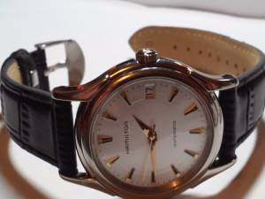 Hamilton Jazzmaster Viewmatic Gold Dial Men's Watch