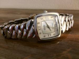 Solid Serling Ladies Watch with Diamond accents (Raleigh)