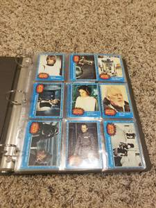 1977 Star Wars Complete Card Set WITH STAR WARS BINDER. MINT MAKE OFFE (New