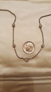 Gorgeous White Gold Diamond Necklace (Downers Grove)