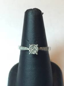 Diamond Ring set w/Band (Louisville, Ky)