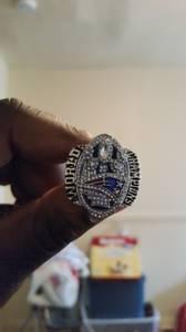 New England Patriots superbowl 51 ring replica (Baltimore)