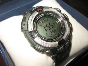 New Casio Pathfinder Triple-Sensor Watch PAW-1500-1V (Norman)