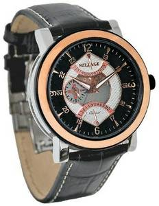 Millage Kent Wristwatch Watch, Gold/Black (Norman)