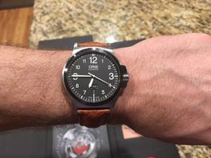 Oris BC3 Day Date Swiss Watch (Frederick)