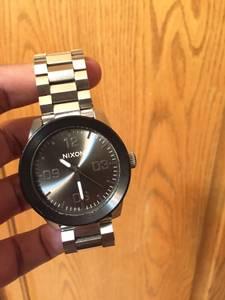 Nixon watch (silver $ black)