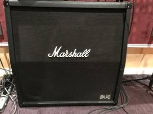 Marshall 4X12 200W Guitar Speaker Cabinet Made in England (Southampton, PA)