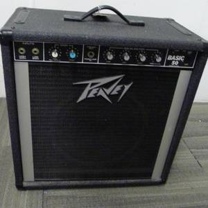 Vintage PEAVEY Basic 50 Bass Amp 12