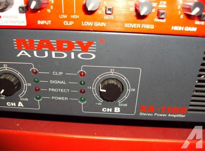 NADY XA 1100 Stereo Power Amp
