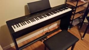 88 key Casio Privia Digital Piano (Davenport)