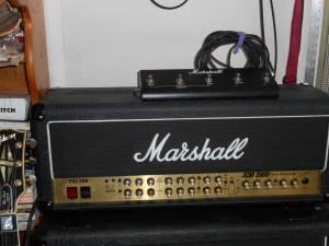 marshall jcm2000 tsl100 guitar amp head JCM 1960 cabinet stratocaster (Roxbury)