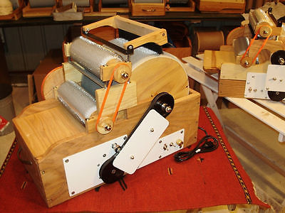 .Southern Comfort Products, Jumbo, Triple Drum Carder