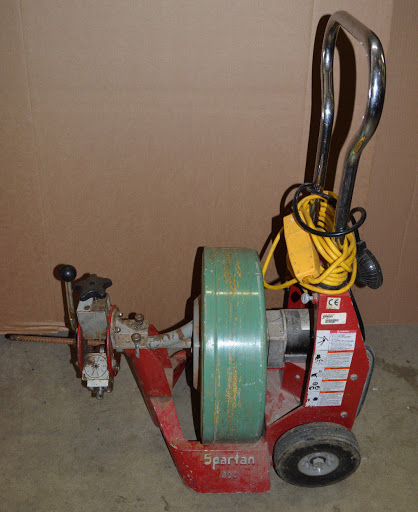 Spartan 300 Cable Drum Machine Drain Sewer Pipe Rooter
