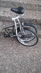 adventurer folding bike (MILL CREEK)