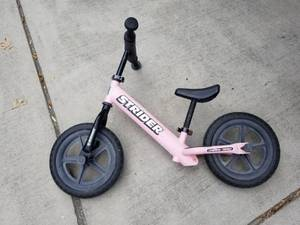 Pink Strider Bike (San Antonio)