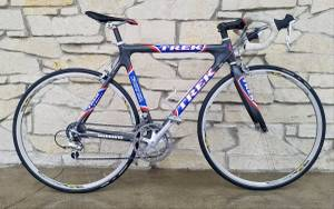 Trek 5900 USPS Carbon Road Bike Full Dura Ace 56cm (Milwaukee)