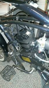 Motorized bike (Marysville)