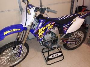 2009 Yamaha YZ450F 4 Stroke Dirt Bike Loaded (Nicholson)