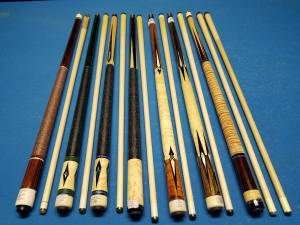 20% OFF Pechauer Custom Pool Cues (nisbet)