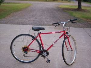 bianchi main street hybrid male bike ,21 speed,nice (Henn / anoka)