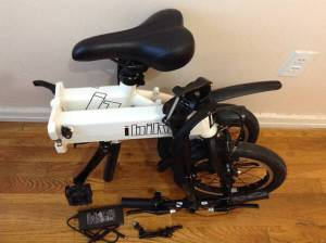 Genesis Electric Folding Bike - upgraded - (Downtown Baltimore)