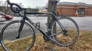 Black Custom Bike Road Bike (58 cm) (Catonsville)