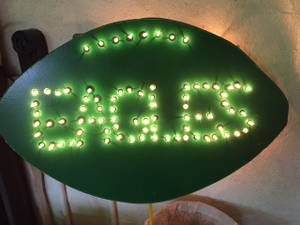 EAGLES Lighted Sign (Jenkintown)