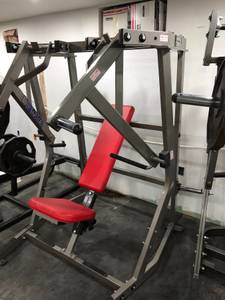 Hammer Strength Iso Decline Chest Press (baltimore)
