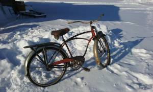 Vintage Schwinn Black Phantom Bike (Canton MN)