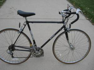 mens RALEIGH super record road bike (new berlin)