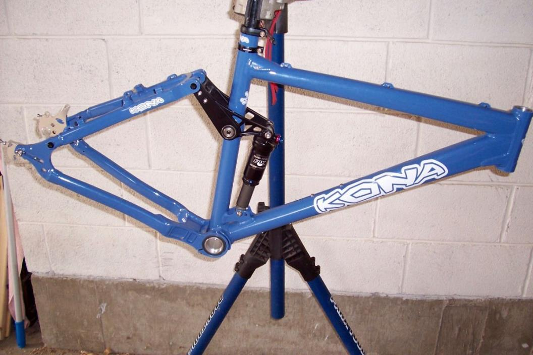 Kona A Full Suspension Singlespeed Frame VGC